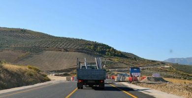 obras carretera santa cruz del comercio